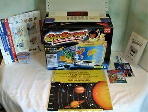 GeoSafari EI-8865 Electronic Learning Game in Box - 1995 - Works!