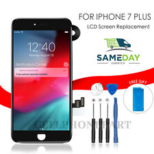 Black For iPhone 7 Plus LCD Screen Replacement 3D Touch Display with Camera UK