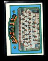 1972 TOPPS #106 BREWERS TEAM VG+ BREWERS  *PS1022