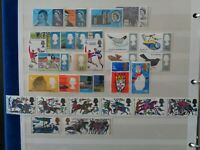 GT BRITAIN 1966 COMMEMORATIVE STAMPS YEAR SET MNH MINT ORD 9 x SETS 30 STAMPS