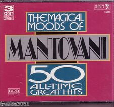 MANTOVANI Magical Moods 50 All Time Great 3CD Classic 60s NOBODY DOES IT BETTER