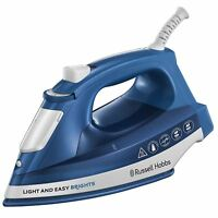 Russell Hobbs 24830 Light & Easy Brights Iron Ceramic Soleplate 2400W - Sapphire