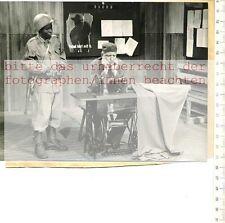 Original Press Photo: 1958 Claus hubalek - a dangerous man-Theatre on TV