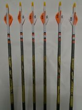 Free Cutting Beman Defender 500 Arrows Factory Fletched  6 Pack