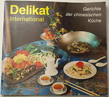 Heft Kochbuch Delikat China DDR Ostalgie Gerichte Sushi Rezepte GDR VEB 1984