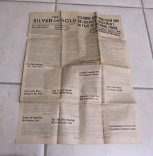 Dec 9 1941 The Colorado University Silver and Gold Newspaper War with Japan WWII