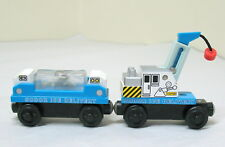 Thomas Wooden Railway, SODOR ICE DELIVERY SET, 2003, EUC