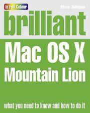 Brilliant OS X Mountain Lion-Mr Steve Johnson