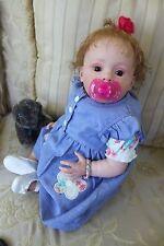 reborn baby girl doll Tiffany Natali Blick - CUTIE!
