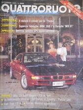 Quattroruote 419 1990 Alfa33 Sport Wagon, Ferrari (in alleg poster la 'rossa')