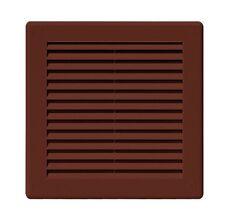 Marrone Griglia di ventilazione 250mm x ANTI-INSECT rete schermo della mosca