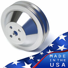 Small Block Ford 2 Groove Water Pump Pulley V-Belt 4 Bolt OEM Balancer SBF 2V