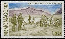 "MONACO N° 1109 ""ALBERT 1er NAVIGATEUR, CAMPEMENT ARCTIQUE , 1 F 40""NEUF xxTTB"