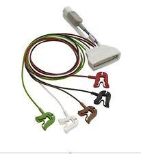 Philips - 989803171851 CBL ECG 5lead Grabber, AAMI + SpO2, Tele