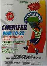 100 Capsules Cherifer PGM 10-22 fortified with ZINC