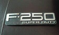 "Used Ford F-250 XLT Super Duty Emblem 8 1/2"" × 2 1/4"""