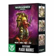 Warhammer 40k Chaos Space Marines Easy to Build Plague Marines NIB