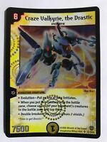 Duel Masters DM06 Craze Valkyrie the Drastic Stomp-A-Trons of Invincible Wrath