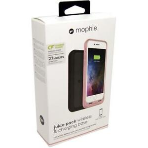 MOPHIE Qi Wireless Battery Case + Wireless Charging Base iPhone 8 & 7 Rose Gold