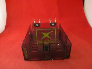 Original Microsoft Xbox Promo Store Game Storage Display Rack