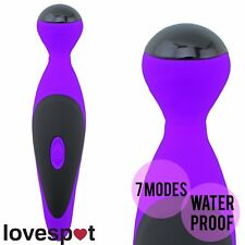 NEW Purple Vibrator Love Wand Sex/Adult Toy Cordless Body Personal Massager USB