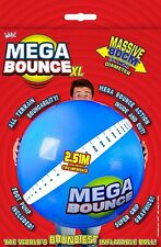 Wicked Mega Bounce XL Worlds Bounciest Inflatable Ball Inc Foot Pump
