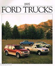 1995 Ford TRUCK's Brochure : F Series,150,Ranger,Explorer,Bronco,Van,Aerostar,