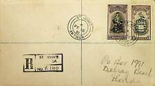 ANTIGUA 1951 WEST INDIES UNIVERSITY COLLEGE 2V ON COVER TO US