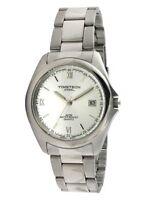 Timetech Steel Men's Steel Silver Dial Bracelet Watch