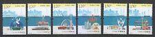PR China 2016-26 maritime Seidenstraße Comp. Set von 6 Briefmarken postfrisch MNH ungebraucht