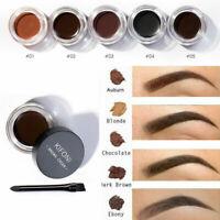 Eye Brow Tattoo Tint Dye Gel Eyebrow Cream Waterproof Long Lasting With Brush