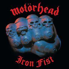 Motorhead IRON FIST (BMG15016V) 180g +MP3s SANCTUARY RECORDS New Sealed Vinyl LP