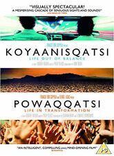 KOYAANISQATSI / POWAQQATSI - DVD - REGION 2 UK