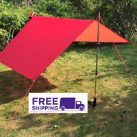 3F UL Gear Ultralight Tarp Lightweight MINI Sun Shelter Camping Tent Footprint