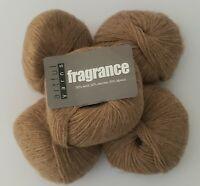 5 Skeins of Fragrance by Artful Yarns (Wool & Alpaca)~ COLOR #2 Lot 6360 Camel