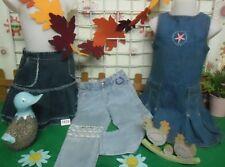 vêtements occasion fille 3 ans,robe jean,jupe jean,jean LA COMPAGNIE DES PETITS