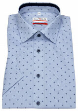 grün 7276 54 45 Marvelis Hemd Modern Fit Print dunkelblau