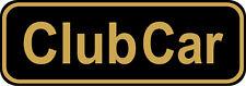 "#4248 (1) 3.75"" Club Car Golf Cart Decal Sticker Laminated"