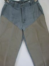 Columbia Hunting Fishing Brush Buster Pants Men 38 Black Jean Nylon Reinforced