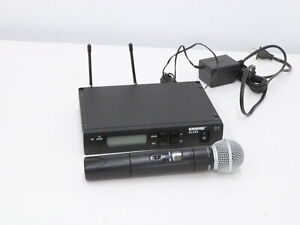 Shure ULX SM58 Wireless Handheld Microphone System