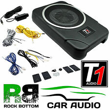 "8"" 20cm 900 WATTS Amplified Active Underseat Car Subwoofer Sub & Bass Controller"