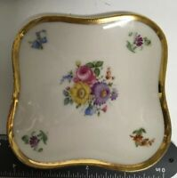 set of 5 vintage Hutschenreuther Hohenberg Germany trinket dishes w reg. numbers