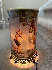 Original Vintage 1950s Econolite Fountain Of Youth Peeing Boy Motion Lamp