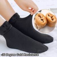 4Pairs Ladies Women Winter Warm Soft Fluffy Bed Socks Lounge Slipper Fleece Sock