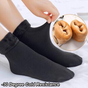 4Pairs Ladies Women Winter Warm Soft Fluffy Bed Socks Lounge Slipper Fleece Sock