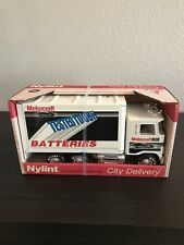 Nylint 1988 * Motorcraft Batteries *City Delivery Pressed Steel Ford Truck 9140Z