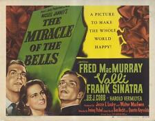 THE MIRACLE OF THE BELLS Movie POSTER 27x40 Fred MacMurray Alida Valli Frank