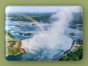 NIAGRA FALLS - Large Novelty Fridge Magnet - 8cm x 5cm *Tourism Travel Gift
