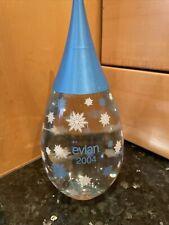 More details for evian 2004 bottle collectable vintage glassware chic home kitchen decor free p&p