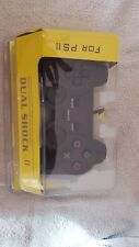 Sony Original PS2 Dual Shock controllers x2 boxed and unboxed